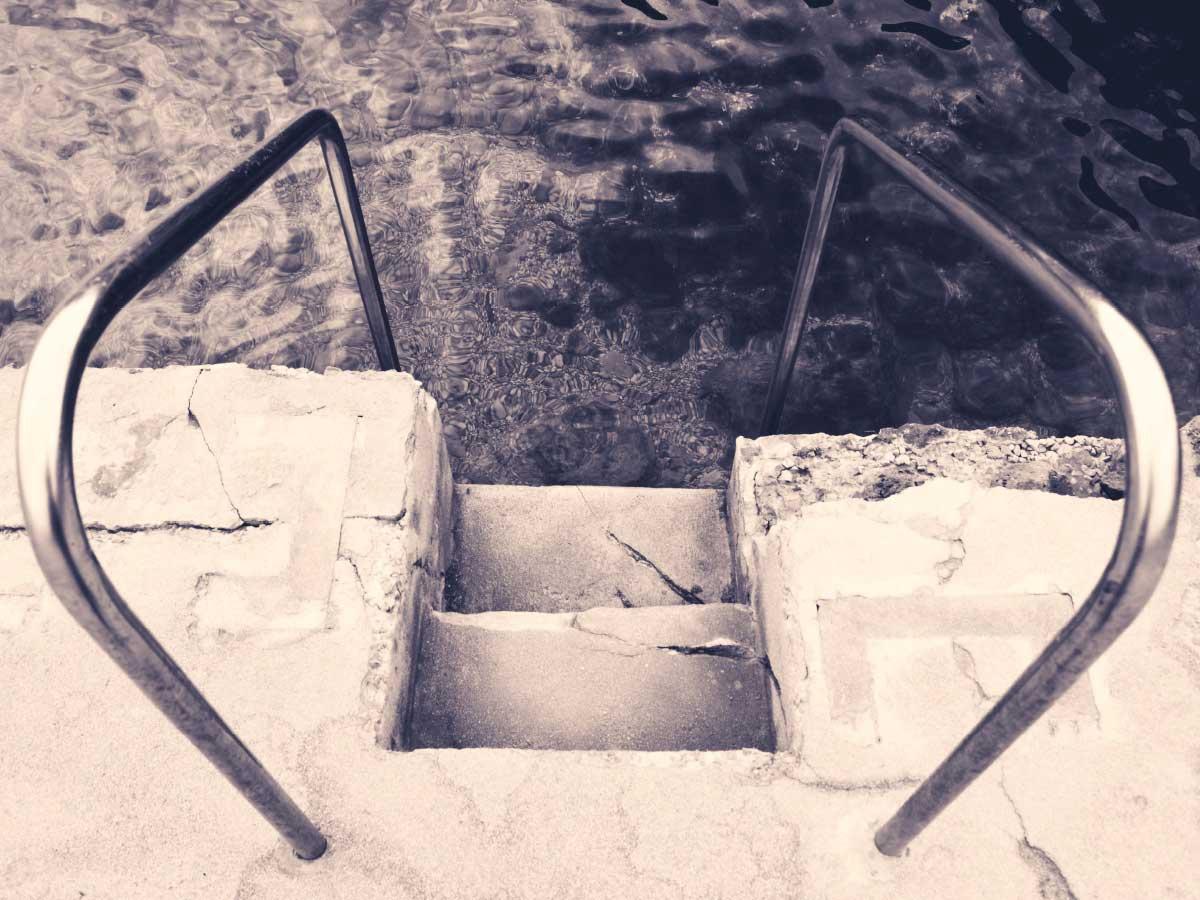 Menorca Sea Stairs
