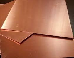 K&S #259 Copper Sheet .025x4x10