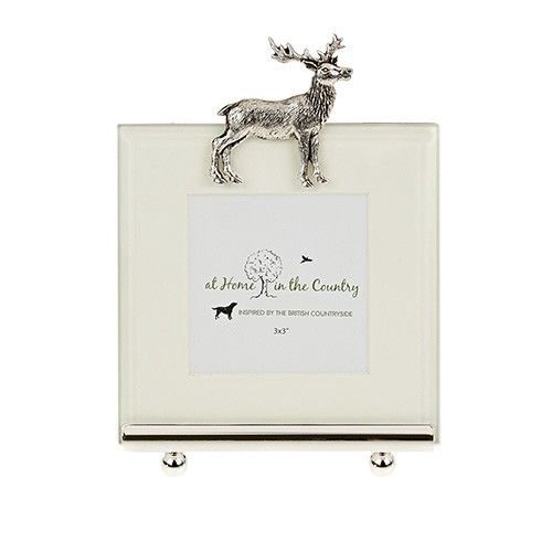 Standing Stag Photoframe