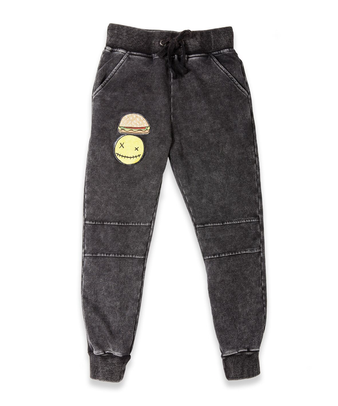 BOB Trackies Patch Vintage Black
