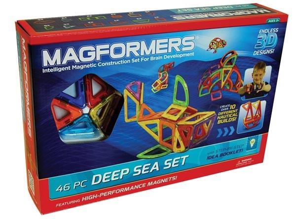 MAGFORMERS DEEP SEA SET 46PCS