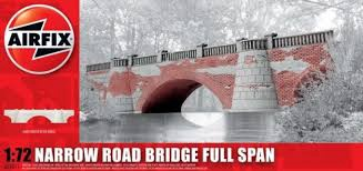 Airfix #275011 1/72 Narrow Road Bridge Full Span Resin Model