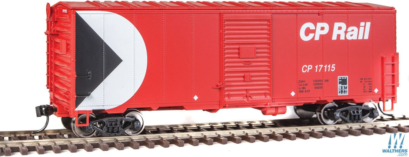 Walthers Mainline #910-1157 HO 40' AAR Modernised 1948 Boxcar