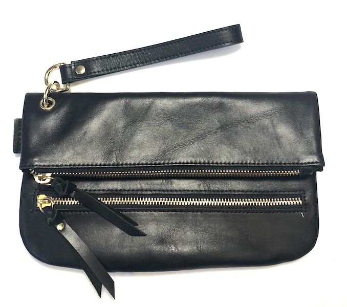 NYX & MIN APOLLO LEATHER CLUTCH