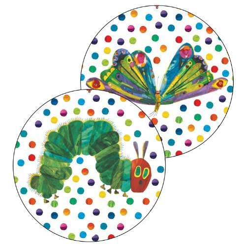 X DC CD 188056 THE VERY HUNGRY CATERPILLAR 2 SIDED DECO