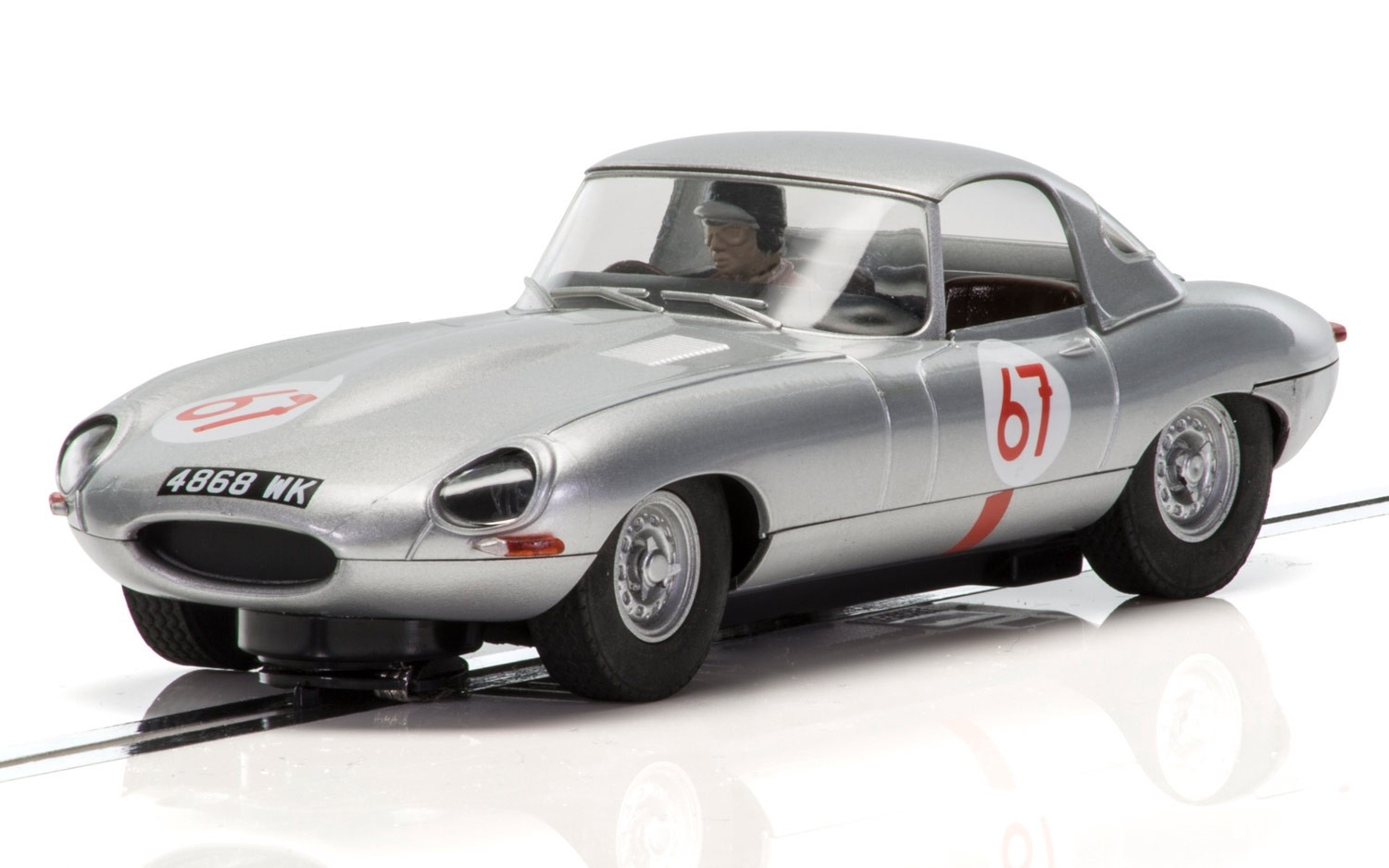 Scalextric #C3952 1963 Jaguar E-Type Nurburgring