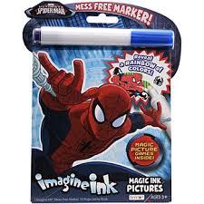 SPIDERMAN IMAGINE INK MAGIC INK