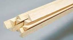 Balsa Wood #BNM1927 3/4 x 3/4 x 36 Triangle