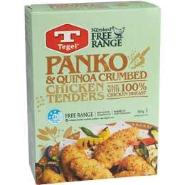 Tegel Panko & Quinoa Crumbed Chicken Tenders 365g