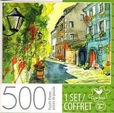 500 PCS PUZZLE SMALL SUMMER STREET