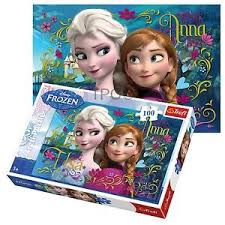 FROZEN PUZZLE 100 PCS