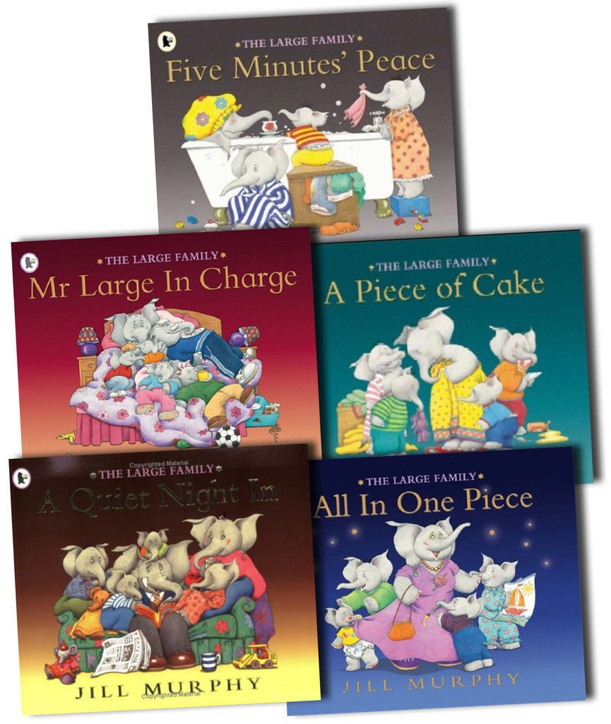 THE LARGE FAMILY COLLECTION 5 BOOKS