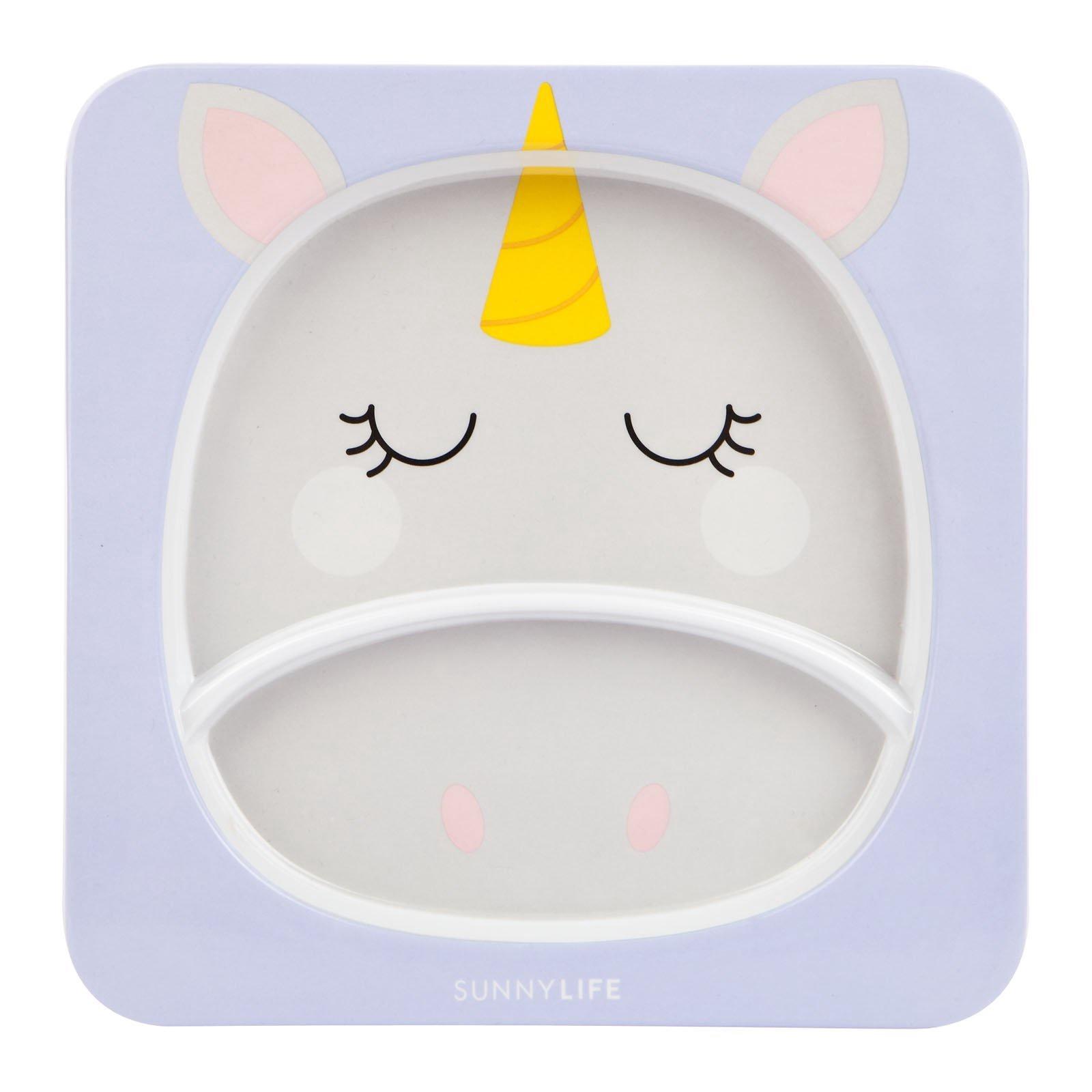 Sunny Life Kids Plate Unicorn