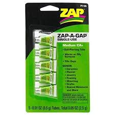 Zap #PT-105 Zap-A-Gap Single Use 5pce