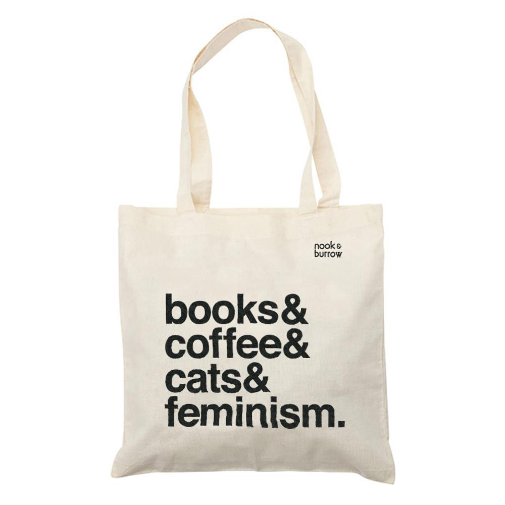 Books& | tote bag