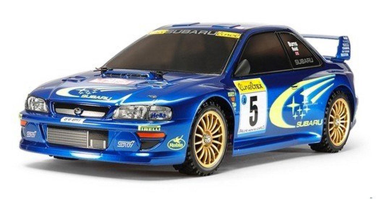 Tamiya #58631 1/10 Subaru Impreza Monte Carlo Kitset