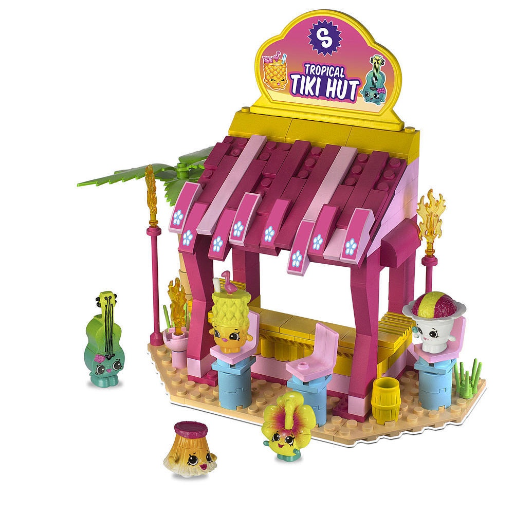 SHOPKINS KINSTRUCTIONS TIKI HUT