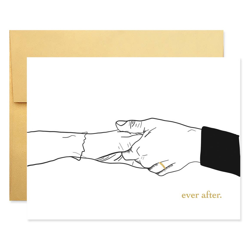 Ever After Wedding Card