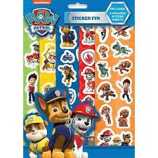 PAW PATROL STICKER FUN
