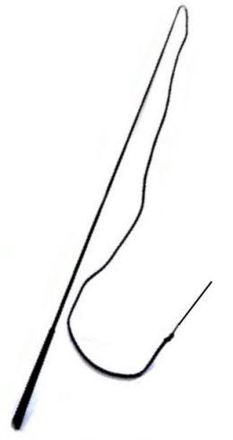 Black Lunge Whip