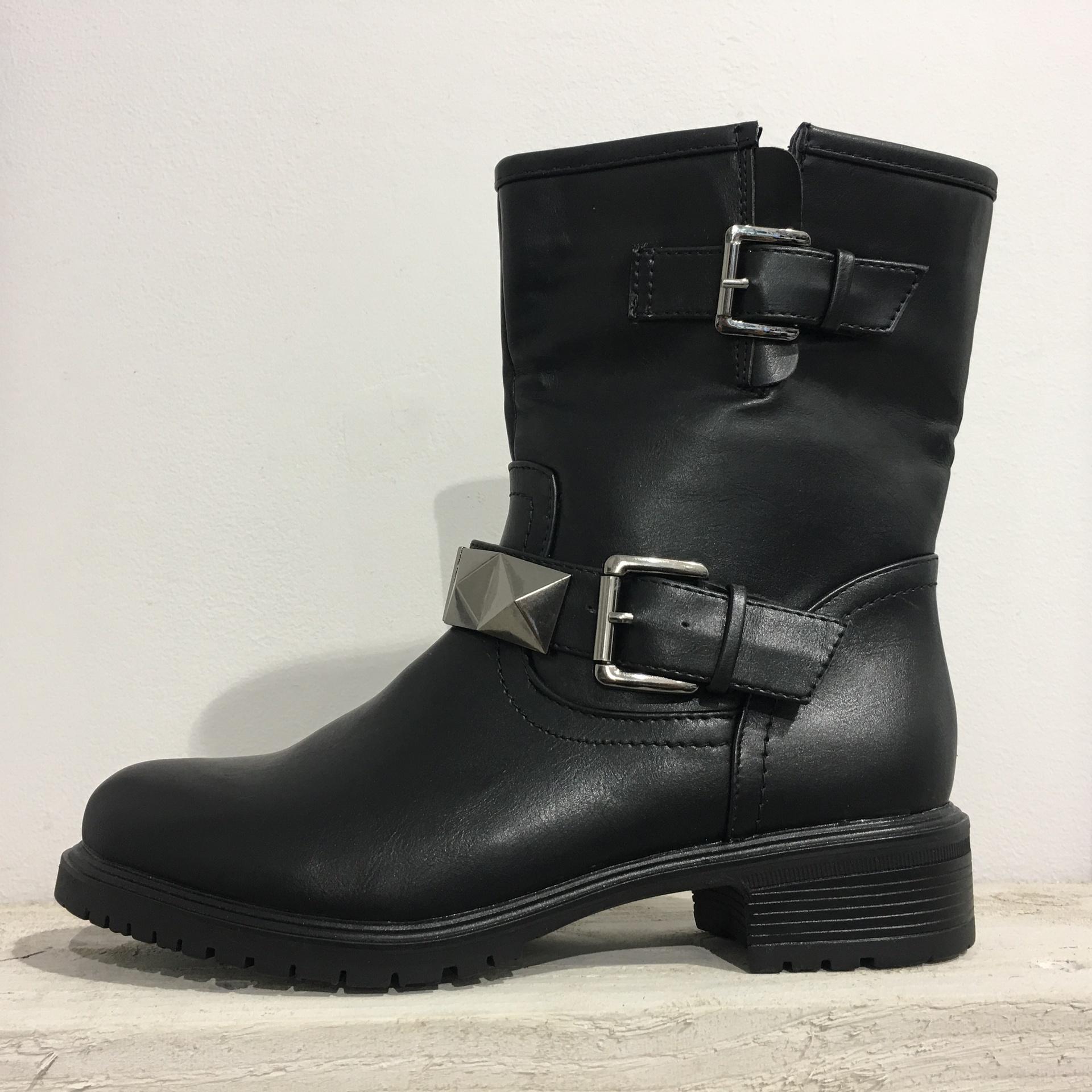 Stud Biker boots F82152