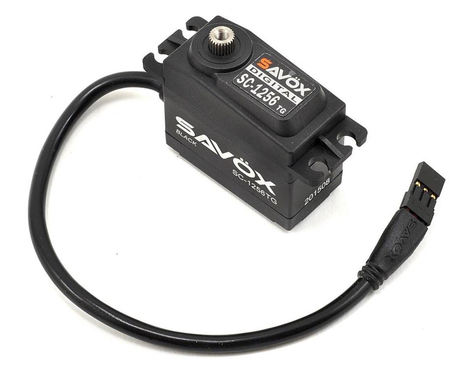 Savox #SC-1256TG (Back)  Standard Digital Servo