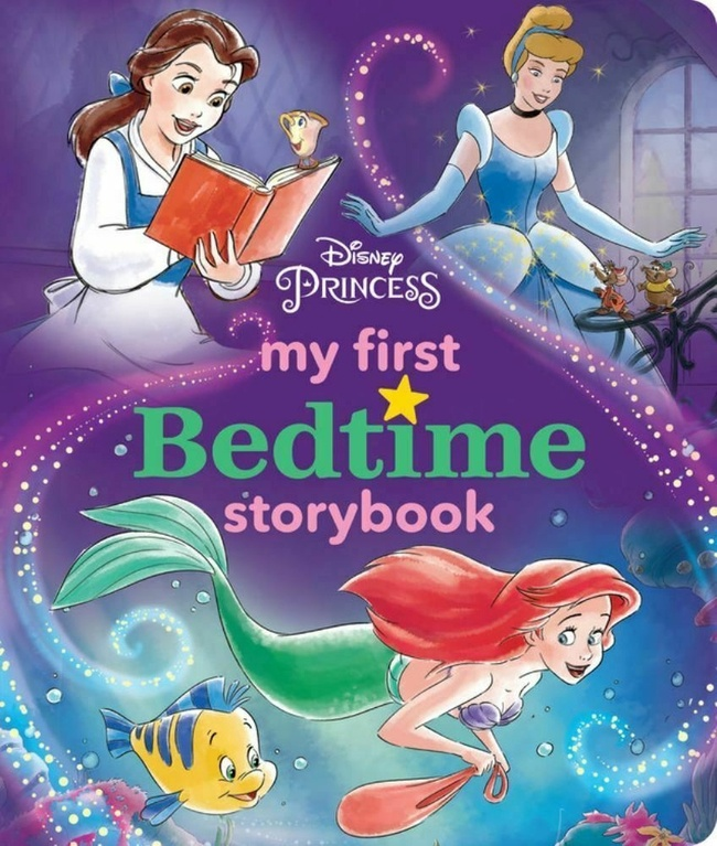 DISNEY PRINCESS MY FIRST BEDTIME STORYBOOK (HB)