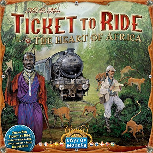 TICKET TO RIDE AFRICA MAP COLLECTION 3