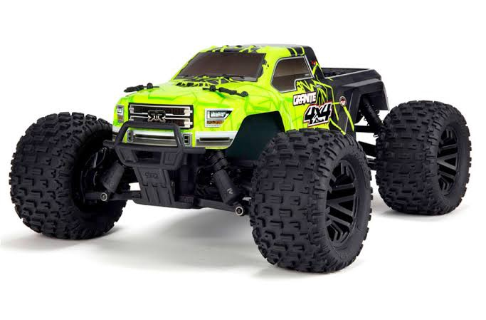ARRMA #AR102714T1 1/10 Granite 4x4 Mega Monster Truck  Brushed