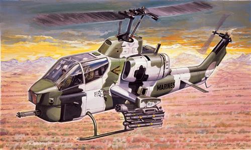 Italeri #160 1/72 . AH - 1W Super Cobra