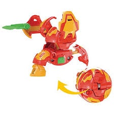 BAKUGAN DX BAKU024 PRO BALL CYNDEOUS RED