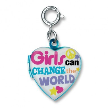 CHARM IT - GIRLS CAN CHANGE THE WORLD CHARM