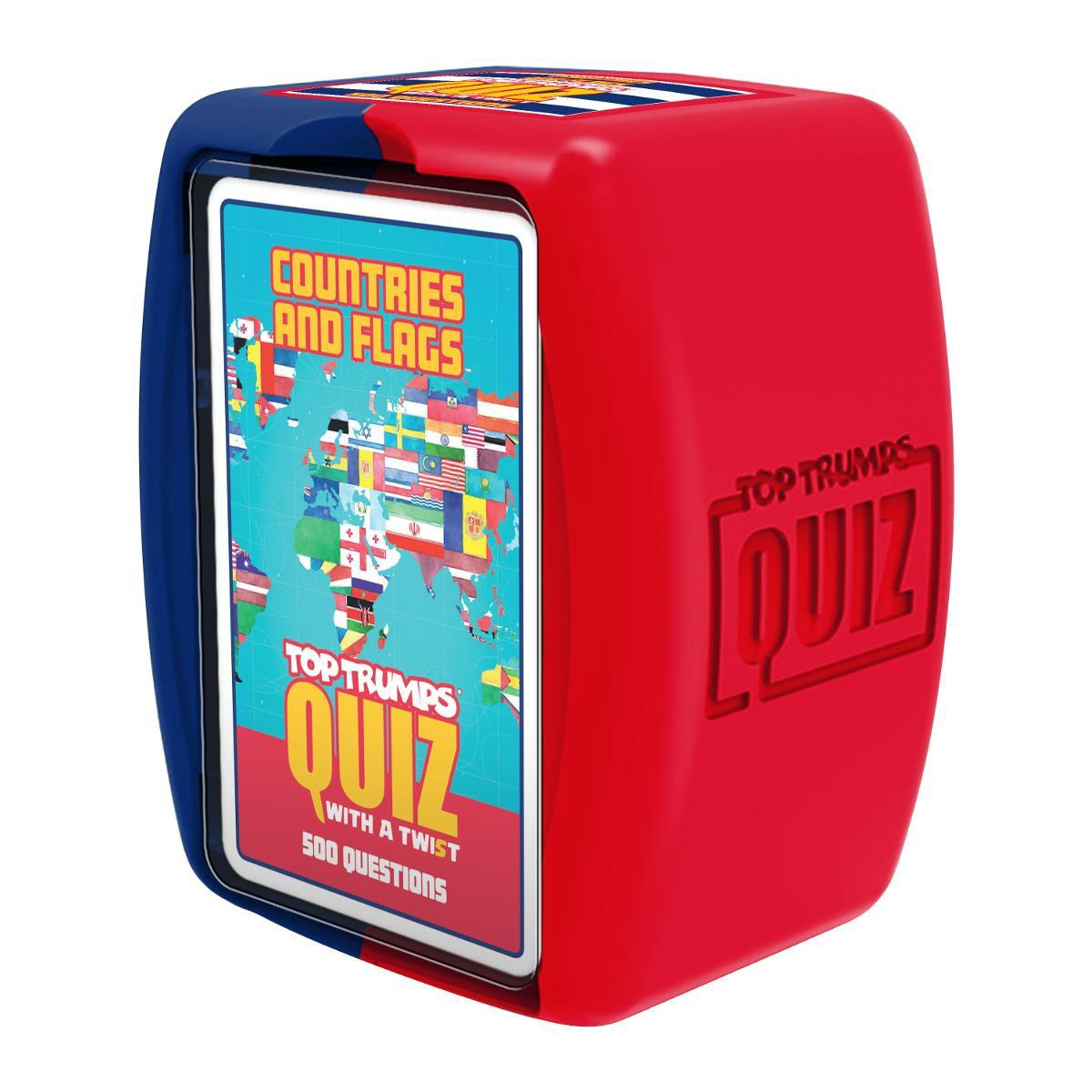 TOP TRUMPS QUIZ COUNTRIES AND FLAGS QUIZ