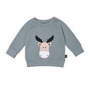 MOOSE SWEATSHIRT - SAGE