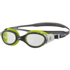 Futura Biofuse Flexiseal Goggles Lime/USA Charcoal/Clear
