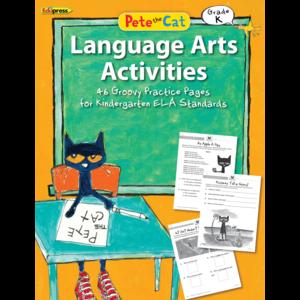 EP 63513 PETE THE CAT LANGUAGE ARTS ACTIVITIES GRADE K