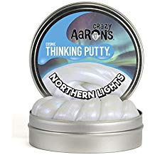 CRAZY AARON'S THINKING PUTTY NORTHERN LIGHTS 4 INCH