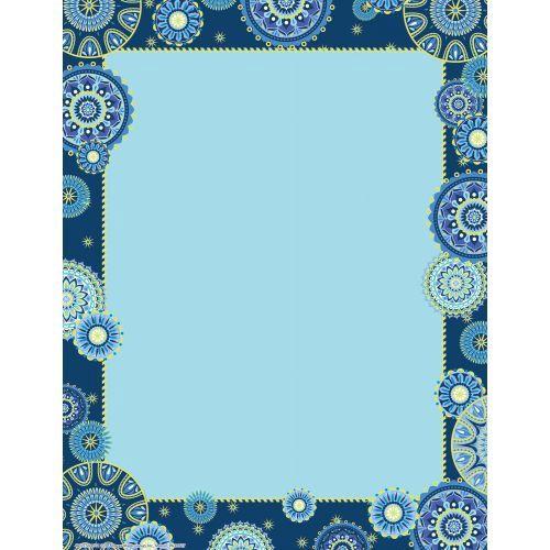 X EU 812133 BLUE HARMONY LIGHT BLUE COMPUTER PAPER