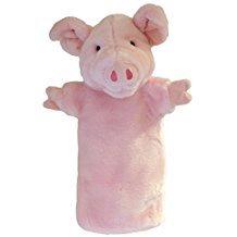 PIG GLOVE PUPPETS