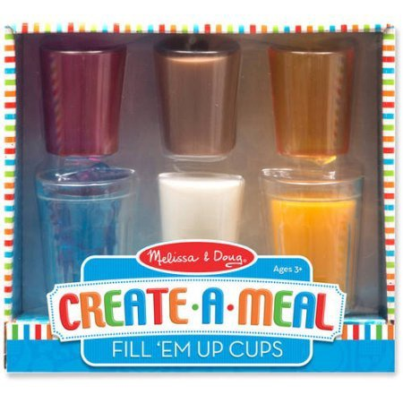 MD 9542 FOOD FUN FILL EM CUPS