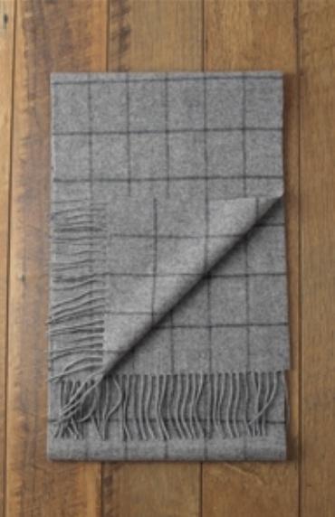 Rupert  Check Wool Scarf