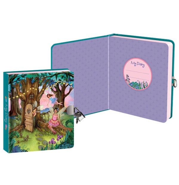 ENCHANTED FAIRY FOREST LOCK &