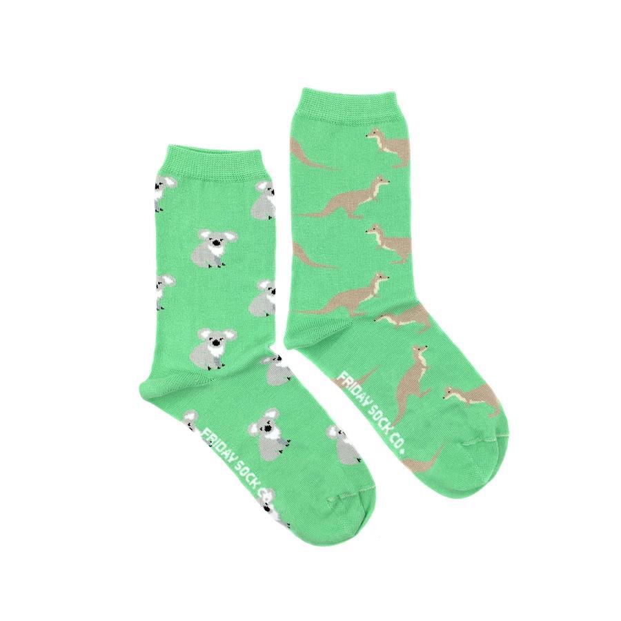 Kangaroo & Koala Crew Socks