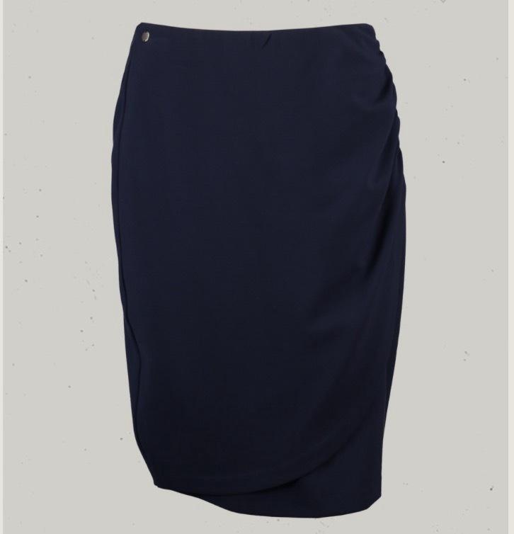 Garcia Navy Skirt 80121