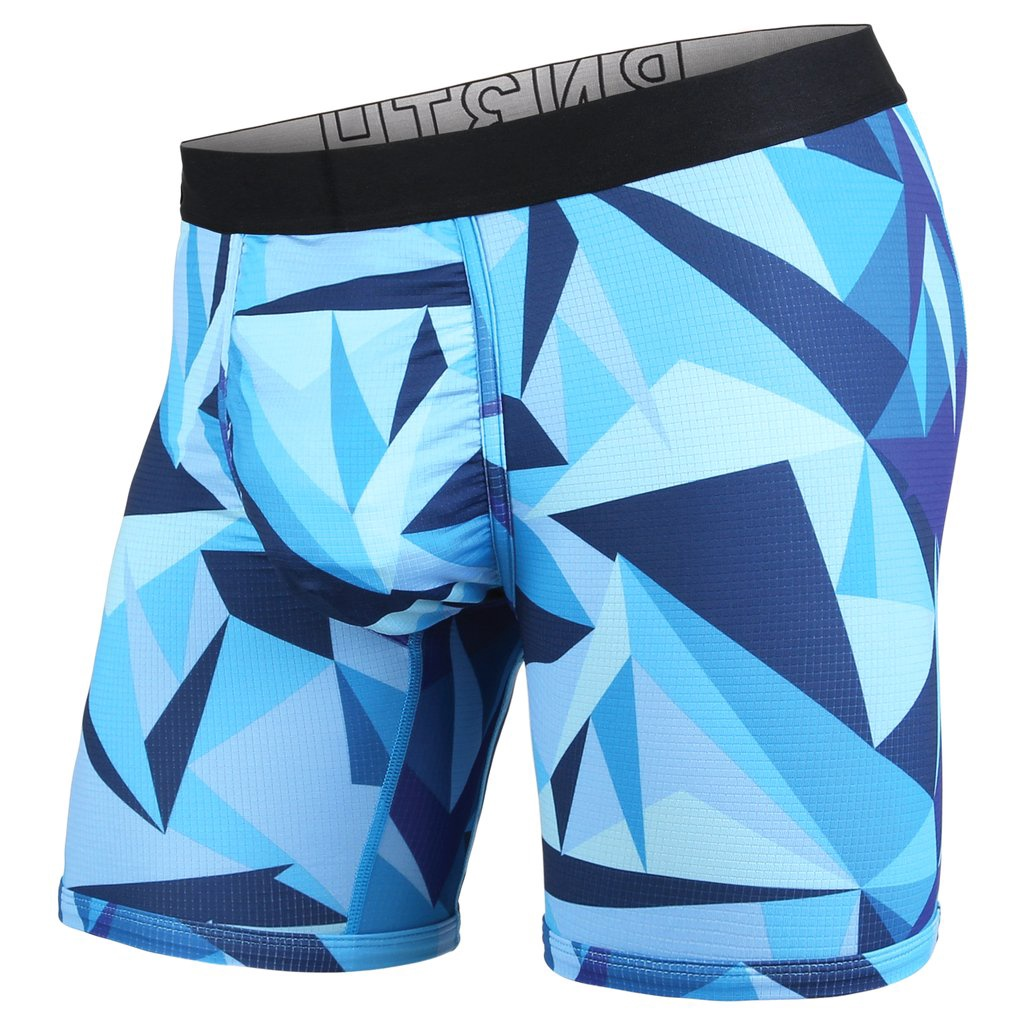 BN3TH ENTOURAGE BOXER BRIEF TECHNICOLOR BLUE