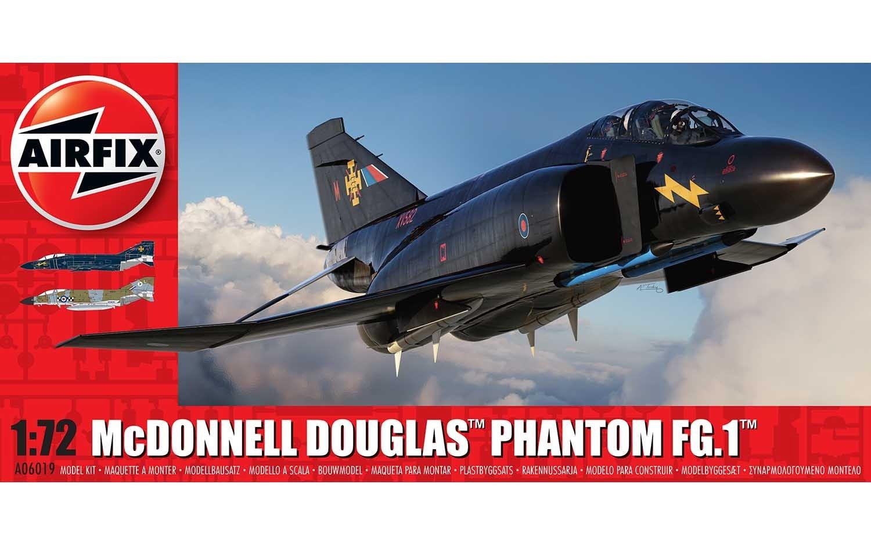 Airfix #A06019 1/72 Mc Donnell Phantom FG.I