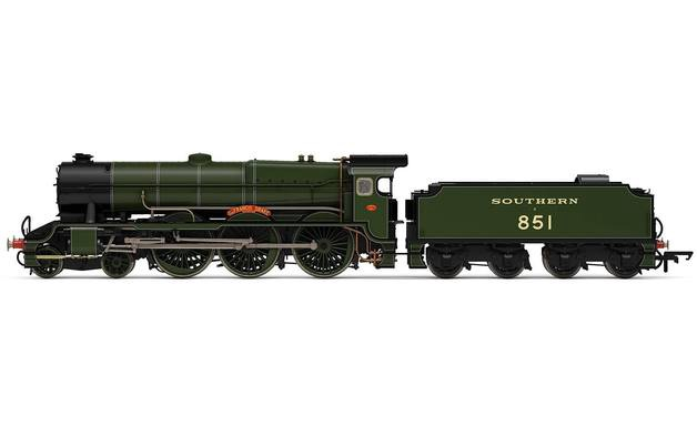Hornby #3634 OO SR Lord Nelson Class 'Sir Francis Drake'