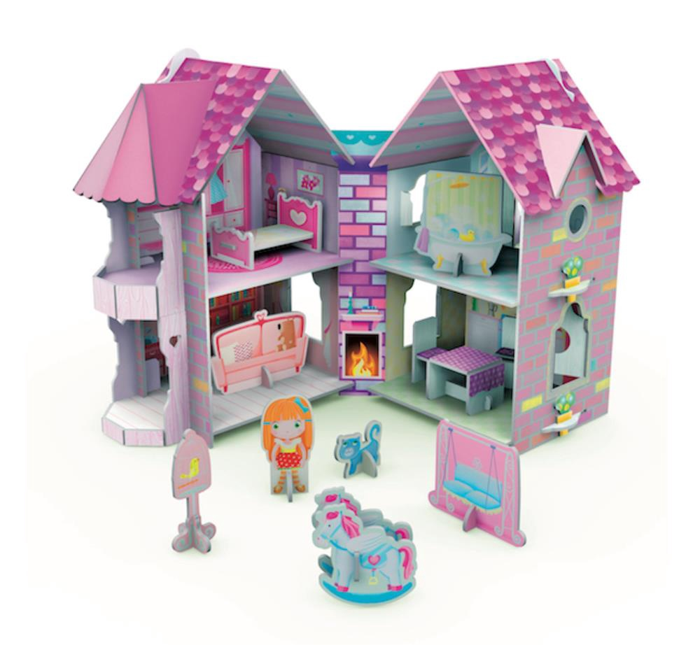 3D Doll's House and Book