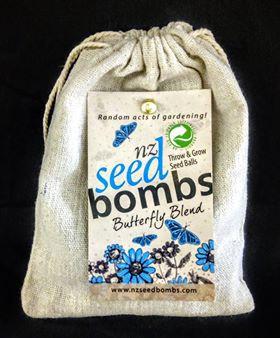 NZ Seed bombs - Butterfly Blend