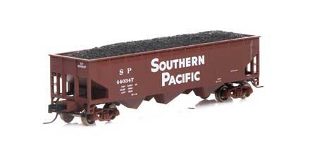 Athearn #ATH5124 N 40' 3 Bay Offset Hopper SP